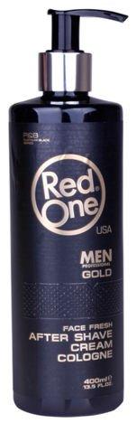 RedOne AFTER SHAVE CREAM COLOGNE GOLD WODA KOLOŃSKA W KREMIE 150 ML