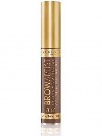 Revers Korektor do brwi BROW ARTIST 8w1 argan oil - Light Brown 10 ml