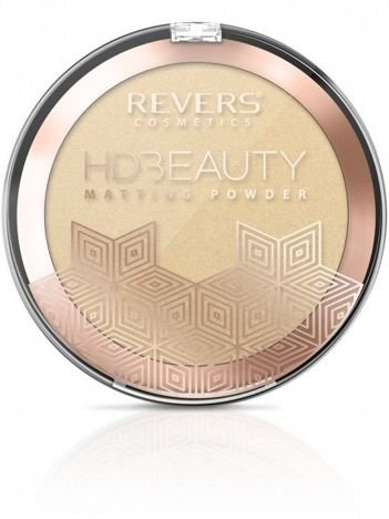 Revers Puder matujący HD Beauty 02 9g
