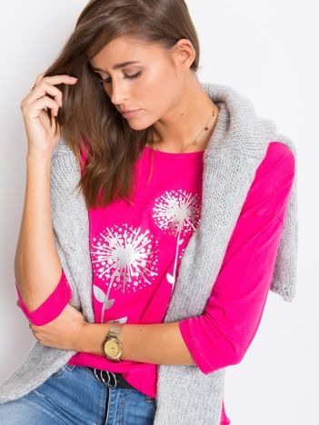 Różowa bluzka Care