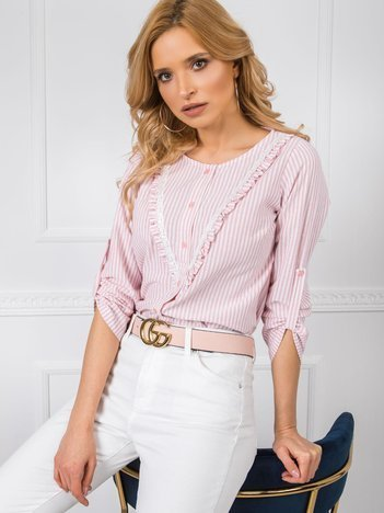 Różowa bluzka Isabel RUE PARIS