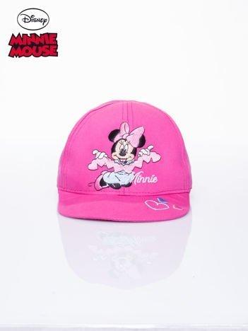 Różowa czapka z daszkiem dla dziewczynki MINNIE MOUSE