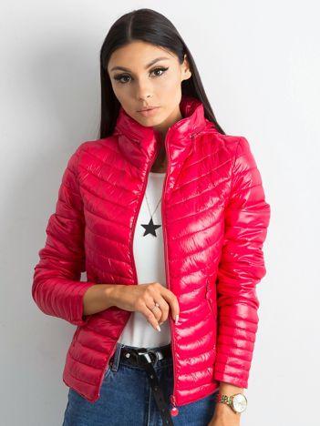 Różowa damska kurtka przejściowa