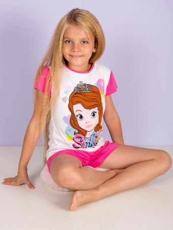 Różowa piżama dla dziewczynki JEJ WYSOKOŚĆ ZOSIA