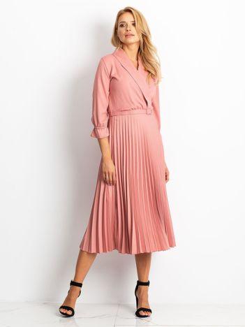 Różowa sukienka Hope