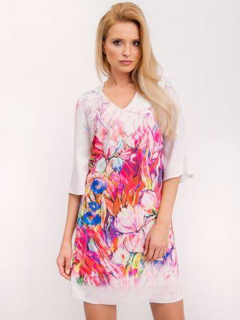 Różowa sukienka Impression