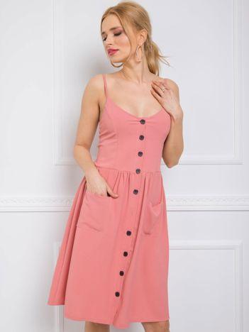 Różowa sukienka Kendra RUE PARIS