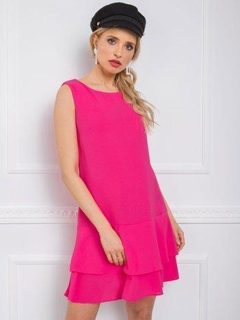 Różowa sukienka Sylvie RUE PARIS