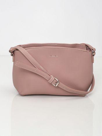 Różowa torebka z eko skóry