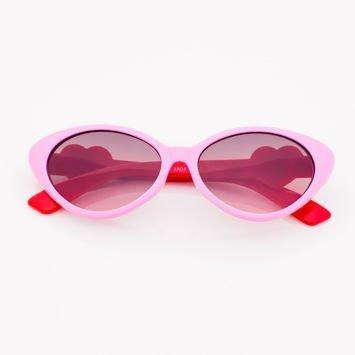 Różowe Dziecięce Okulary przeciwsłoneczne