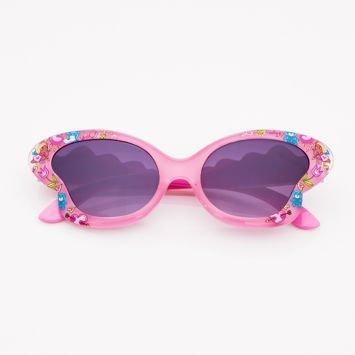 Różowe Dziecięce Okulary przeciwsłoneczne MOTYL