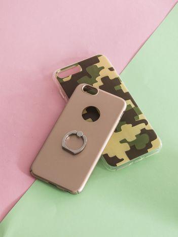 Różowe etui na telefon z uchwytem na palec iPhone 6/6S