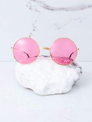 Różowe okulary hippie