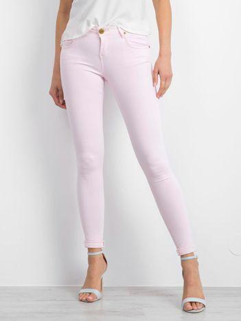 Różowe spodnie Inventive