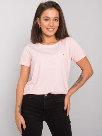 b422eaf50c Różowy melanżowy t-shirt Transformative