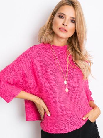 Różowy sweter Lennox