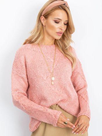 Różowy sweter Tiffany