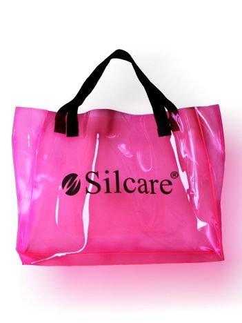 SILCARE Torba Silcare Transparent FLUO Pink