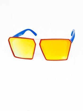 STARS Modne okulary przeciwsłoneczne z filtrami UV