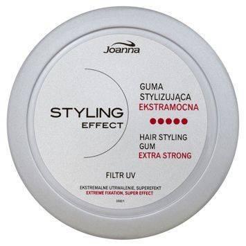 STYLING effect  Guma stylizująca słoik 100g  srebrna