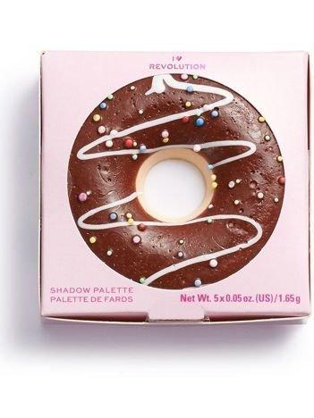 SUPER NOWOŚĆ! I ♡ Revolution Paletka cieni Donuts Chocolate Dipped 1,65 g