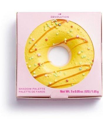 SUPER NOWOŚĆ! I ♡ Revolution Paletka cieni Donuts Maple Glazed 1,65 g
