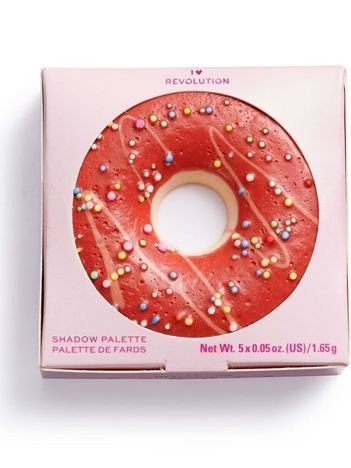 SUPER NOWOŚĆ! I ♡ Revolution Paletka cieni Donuts Strawberry Sprinkles 1,65 g