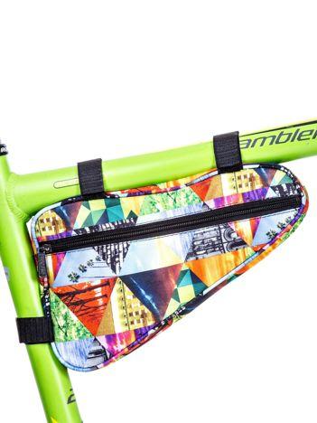 Saszetka rowerowa z kolorowym nadrukiem