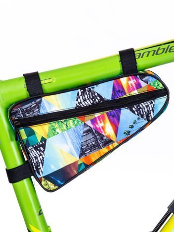 Saszetka rowerowa z kolorowym printem