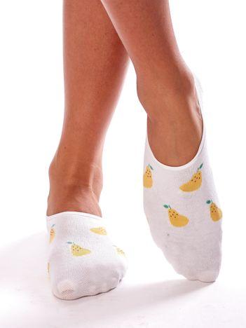 Skarpety stopki w gruszki