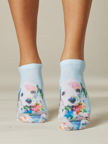 Skarpety stopki z psem