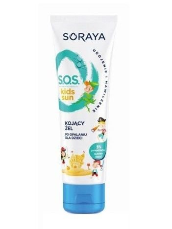 Soraya Sun Care Żel po opalaniu dla dzieci Kojący  100 ml