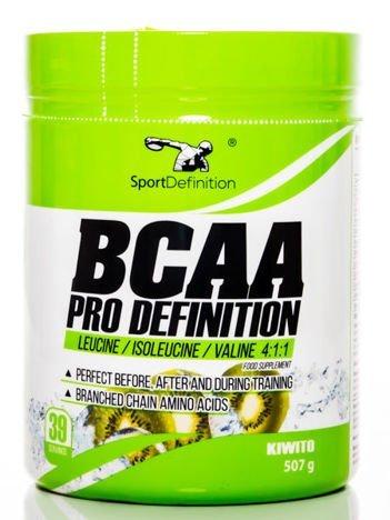 Sport Definition - Aminokwasy BCAA Pro Definition - 507g Kiwi