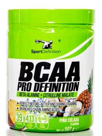 Sport Definition - Aminokwasy BCAA Pro Definition Pina Colada 507g