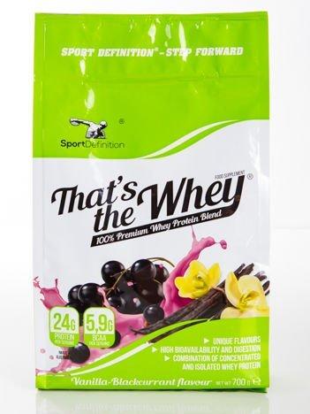 """Sport Definition - Odżywka białkowa That""""s the Whey - 700g Vanilla - blaccurant"""