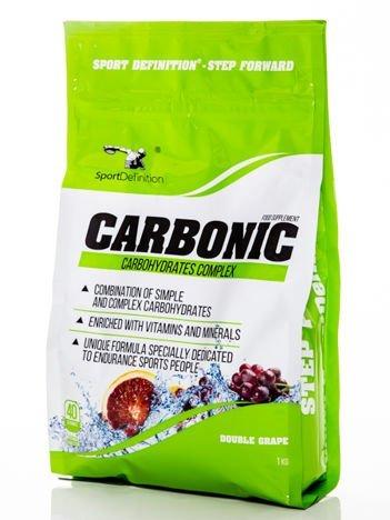 Sport Definition - Odżywka węglowodanowa Carbonic - 1000g Double Grape