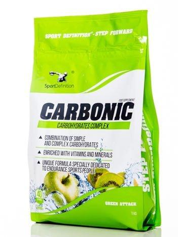 Sport Definition - Odżywka węglowodanowa Carbonic - 1000g Green Attack