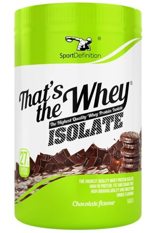 Suplementy diety Sport Definition - Thats the Whey 640g
