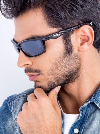 Sur Pass Sportowe okulary męskie połysk