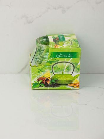 Świeca o zapachu zielonej herbaty