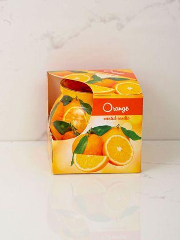 Świeca zapachowa Pomarańcza