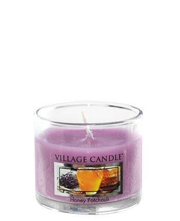 Świeca zapachowa Village Candle Mini Glass 29gr - Honey Patchouli