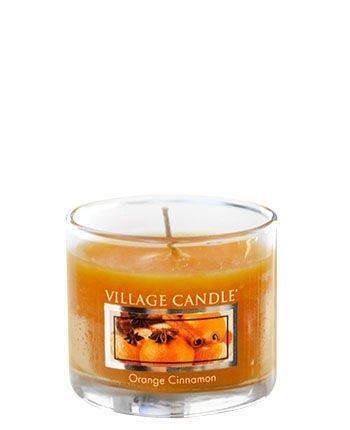 Świeca zapachowa Village Candle Mini Glass 29gr - Orange Cinnamon