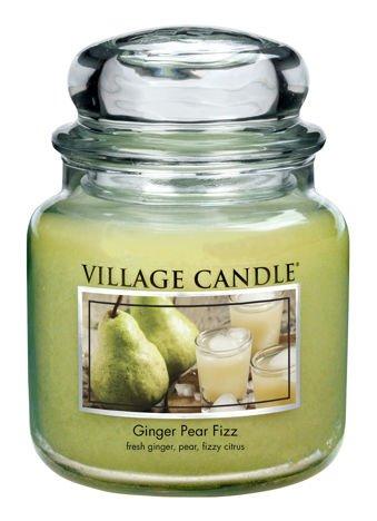 Świeca zapachowa Village Candle ŚREDNIA 453 gr - Ginger Pear Fizz