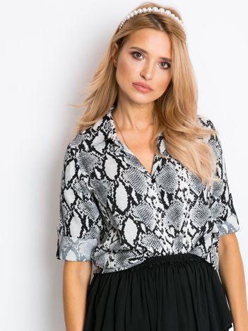 Szara koszula Deborah
