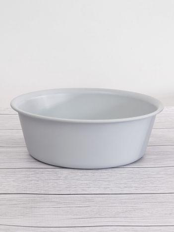 Szara miska plastikowa