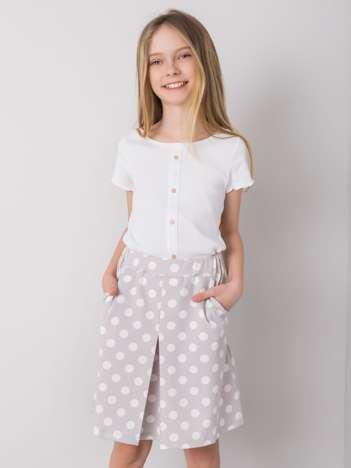 Szara spódnica dla dziewczynki DODO KIDS