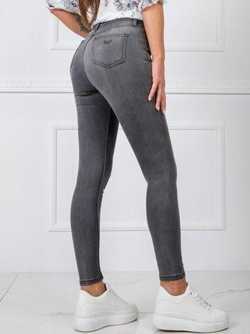 Szare jeansy Abby