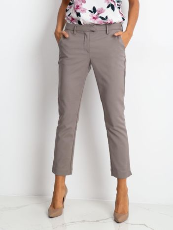 Szare spodnie Classy