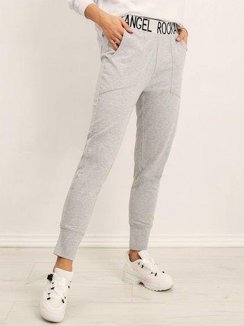 Szare spodnie Maybel